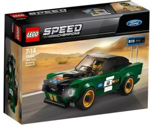 LEGO 75884 Speed Champion Ford Mustang Fastback z 1968 r.