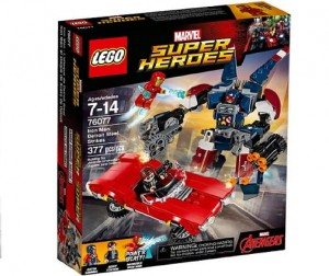 LEGO 76077 Super Heroes Iron Men Detroit Steel atakuje